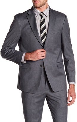 Tommy Hilfiger Adams Modern Fit TH Flex Performance Wool Blend Suit Separates Jacket - Extended Sizes Available