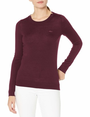 Lacoste Womens Long Sleeve Jersey Sweater Sweater