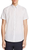 Theory Zack S Striped Slim Fit Button-Down Shirt