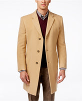 Tommy Hilfiger Barnes Cashmere-Blend Overcoat Trim Fit