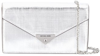 MICHAEL Michael Kors metallic clutch bag
