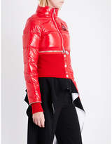 Givenchy Detachable cropped puffa jacket