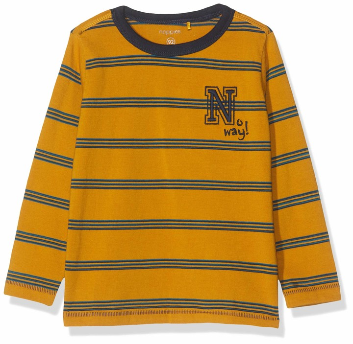 Noppies Boys B Regular T-Shirt Ls Jerseyville Long Sleeve Top