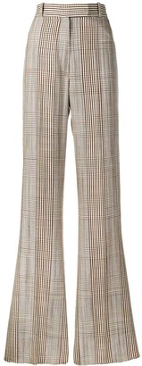 Golden Goose Long Plaid Trousers