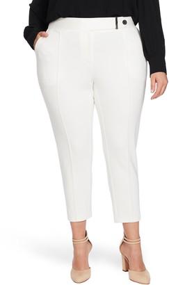 CeCe Ponte Front Seam Pants
