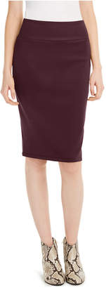 INC International Concepts Inc Solid Scuba Pencil Skirt