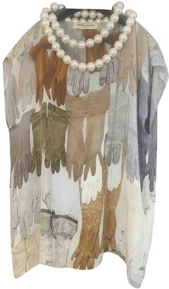 Tata-Naka Multicolour Silk Top for Women