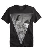 GUESS Men's Two-Tone Graphic-Print T-Shirt