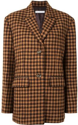 REJINA PYO Bowen checked jacket