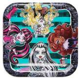 Disney Monster High Square Disposable Plates - 8ct