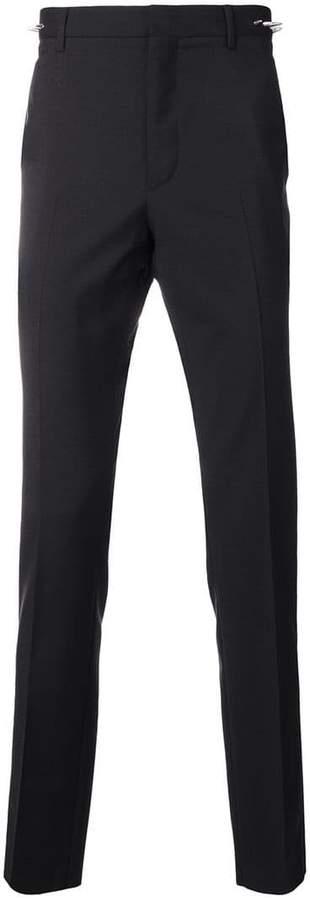 Valentino stud detail slim fit trousers