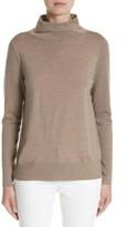 Lafayette 148 New York Women's Merino Wool Modern Turtleneck Sweater