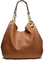 MICHAEL Michael Kors Fulton Large Shoulder Tote Bag, Luggage