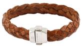 Tateossian Thick Leather Bracelet