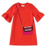 Kate Spade Girls' Trompe L'Oeil Bag Dress - Little Kid
