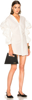 Jacquemus Ruched Sleeve Dress