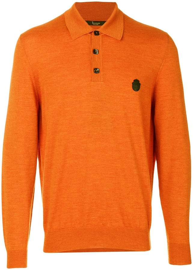 Billionaire long sleeved polo shirt