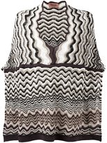 Missoni wave knit poncho - women - Acrylic/Cashmere/Wool - One Size
