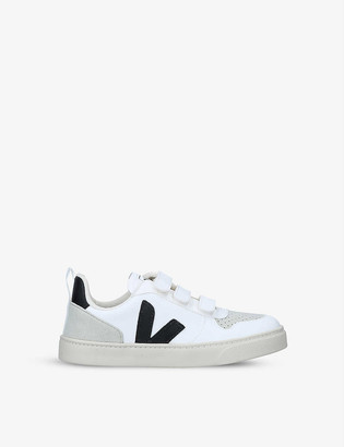 Veja V10 leather trainers 6-9 years