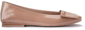 Jonak Diako Patent Leather Ballet Flats