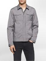 Calvin Klein Pinstripe Trucker Jacket