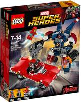 Lego Super Heroes Iron Man Detroit Steel Strikes Set