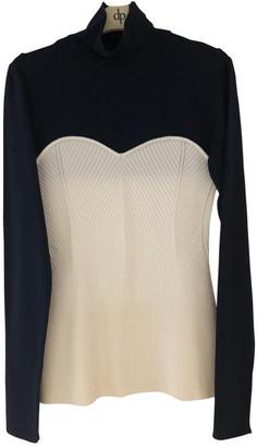Cédric Charlier Beige Wool Knitwear for Women