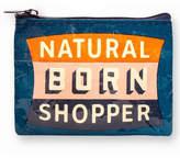 Blue Q Born Shopper Coin Purse