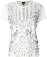 Just Cavalli studded short-sleeved T-shirt