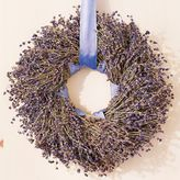 Lavender Ribbon Wreath