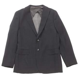 Tonello Black Wool Jackets