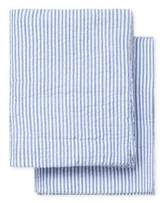 Melange Home Yarn Dyed Striped Sham- Set of 2