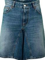 MM6 MAISON MARGIELA Maison Margiela Wide Leg Denim Shorts