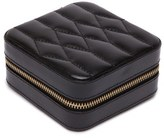 Wolf 'Caroline' Travel Jewelry Case - Black