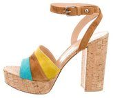 Gianvito Rossi Cork Platform Sandals w/ Tags