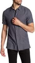 Vince Short Sleeve Striped Shirt