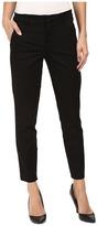 Level 99 Taylor Classic Straight Leg Trousers in Black