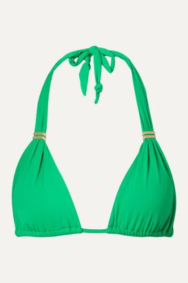 Vix Bia Triangle Bikini Top - Green