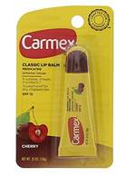 Carmex Cherry Flavour Lip Balm Tube - SPF15 - Pack of 2