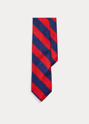 Ralph Lauren Striped Silk Repp Tie