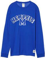 PINK University Of Memphis Long Sleeve Campus Tee
