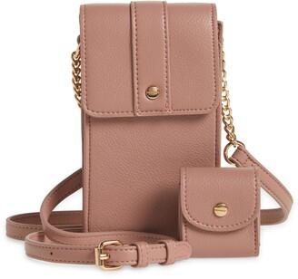 Mali & Lili Vegan Leather Phone Crossbody Bag