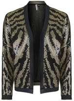 Tiger sequin jacket