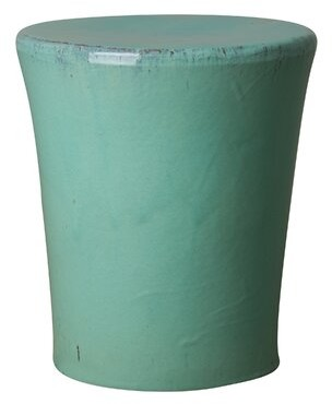 Bungalow Rose Cordella Accent Stool Color: Aqua Marine
