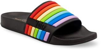 Juicy Couture Wynnie Women's Rainbow Slide Sandals