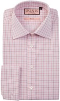 Thomas Pink Molyneux Slim Fit Graph Check Dress Shirt