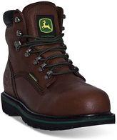 John Deere Men's Waterproof Steel-Toe Work Boots