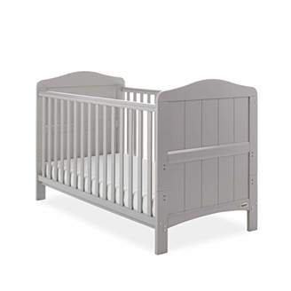 O Baby Obaby Whitby Cot Bed - Warm Grey