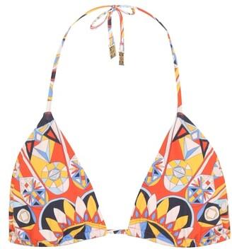 Tory Burch Kaleidoscope bikini top