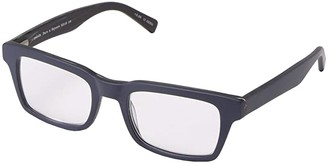 Eyebobs Fare N Square (Matte Navy) Reading Glasses Sunglasses